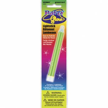 Glow in the Dark Stick Kleur: Groen